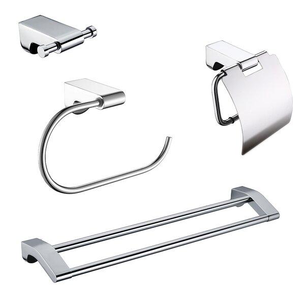 Imperia 4 Piece Bathroom Hardware Set by Ancona
