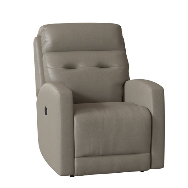 Bank Shot Leather Manual Wall Hugger Recliner by Southern Motion Southern Motion