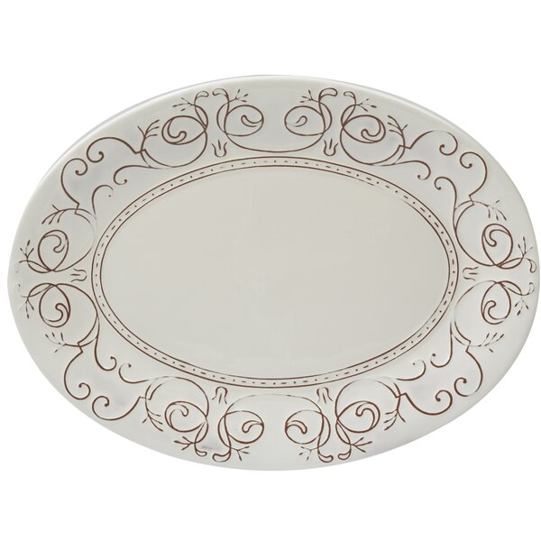 Lazo Oval Platter by Ophelia & Co.