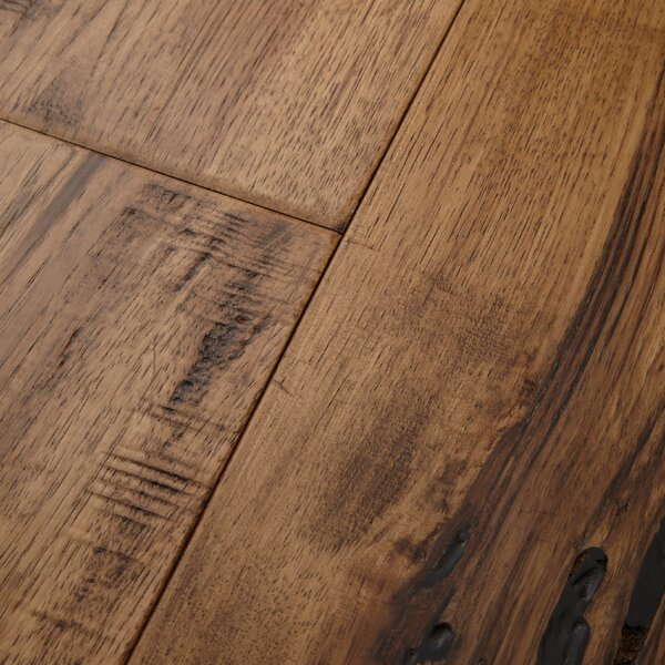 Maison 7 Engineered Hickory Hardwood Flooring in Champagne by Mannington