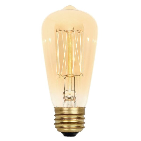 40W Amber ST15 Light Bulb by Westinghouse Lighting