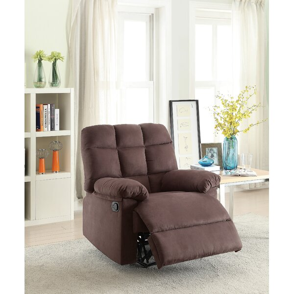 Jaclynn Manual Glider Recliner