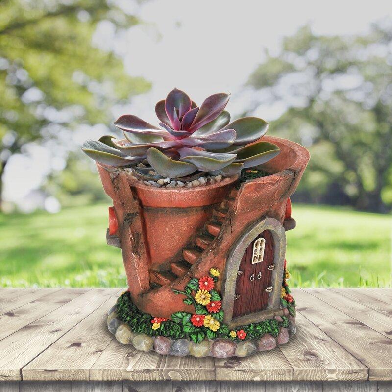 August Grove Speth House Pot Fairy Garden | Wayfair