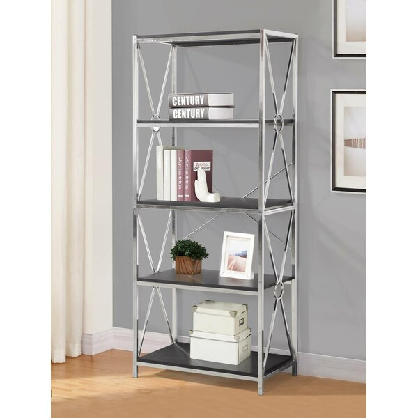 Viviano Etagere Bookcase by Orren Ellis