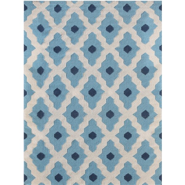 Pietsch Blue Area Rug by Wrought Studio