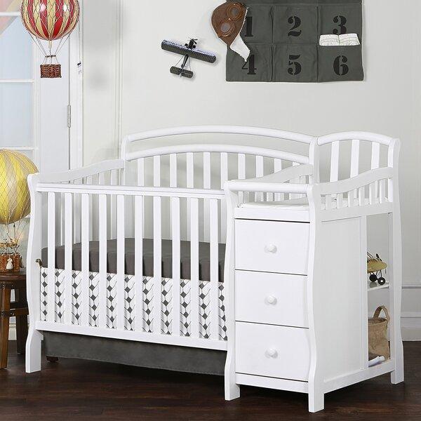 Caso 3-in-1 Convertible Mini Crib by Dream On Me