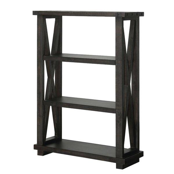 Ivan 3 Tier Wooden Standard Bookcase by 17 Stories