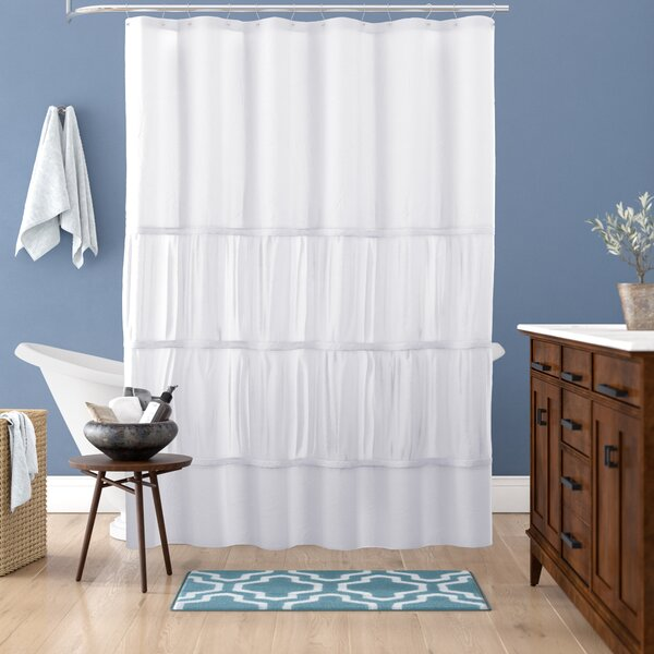Carolina Microfiber Shower Curtain by Andover Mills