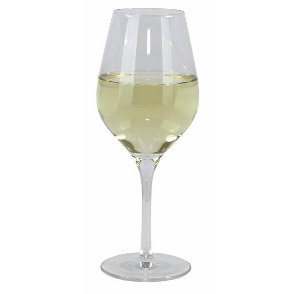 Grace 12.25 oz. White Wine Glass (Set of 4) by Oneida