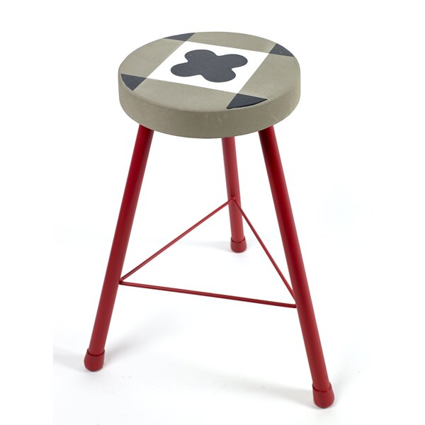 Mccasland Tile Foot Accent Stool by Ebern Designs
