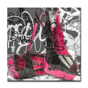 Urban Fashion XVI Graphic Art on Canvas by Ready2hangart