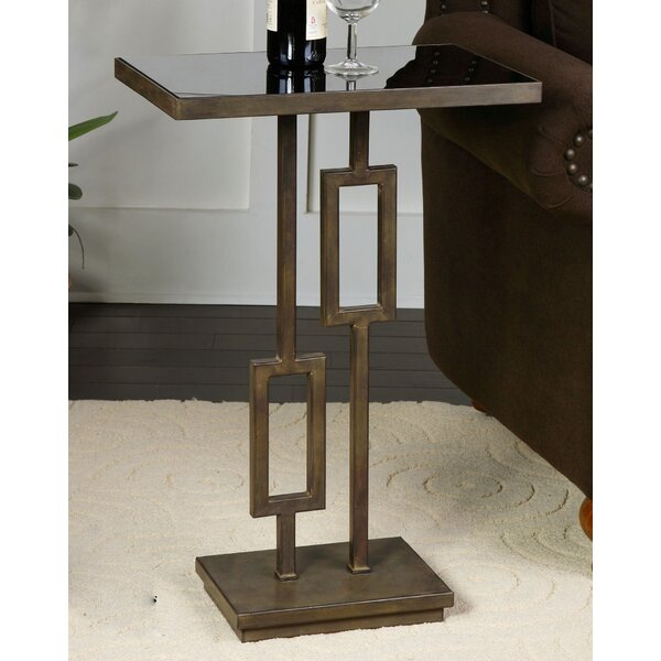 Coleshill Rubati End Table By World Menagerie