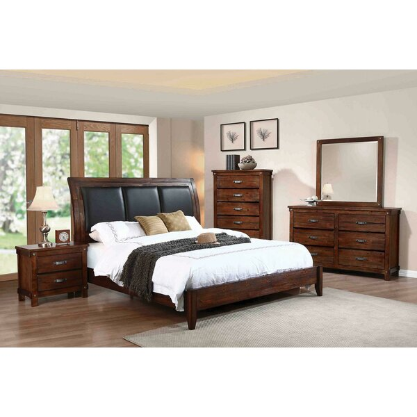 Angelynn Upholstered Standard Bed by Loon Peak