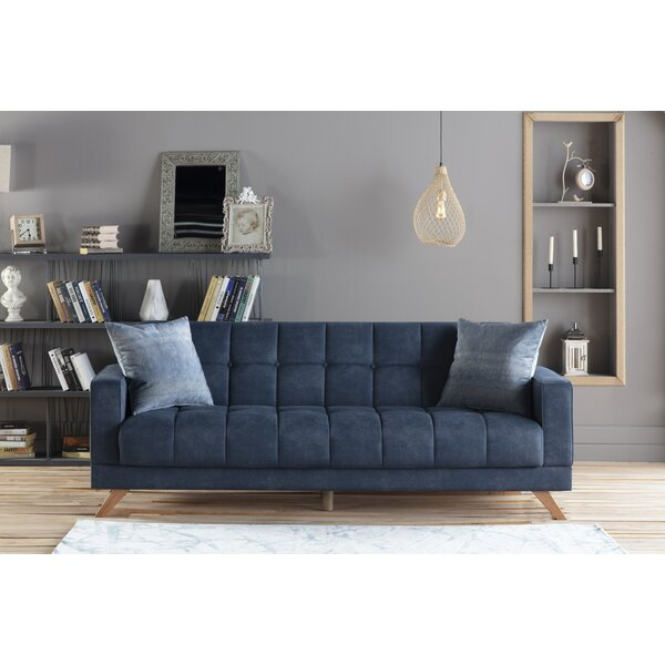 Salman Full Split Back Convertible Sofa By Brayden Studio