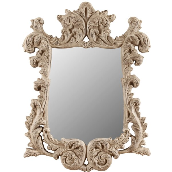 Quincy Accent Wall Mirror by Galaxy Home Decoration