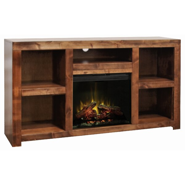 Belle Isle 65 TV Stand Electric Fireplace by Loon Peak