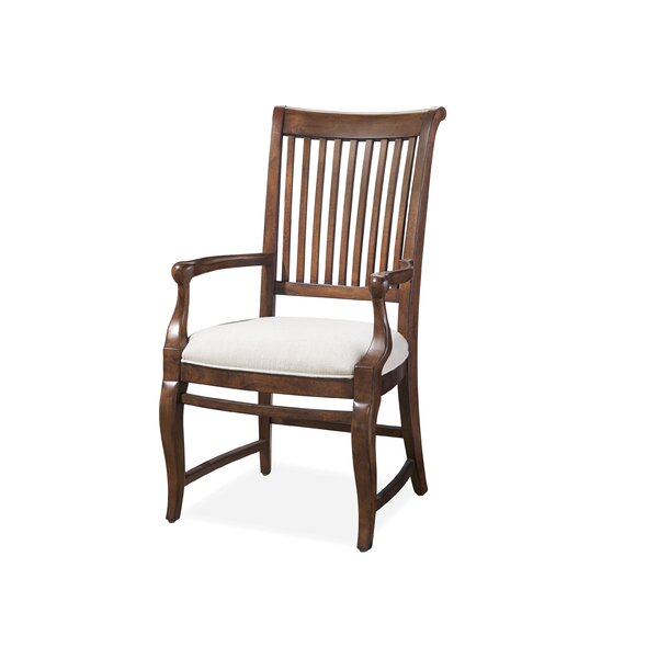 Eoin Arm Upholstered Dining Chair (Set of 2) by Ophelia & Co. Ophelia & Co.