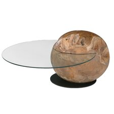 Orb Coffee Table with Tray Top by Hokku Designs