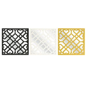 prinstly wall mirror set of 3