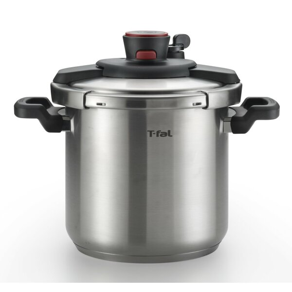 8 Qt. Clipso Pressure Cooker by T-fal