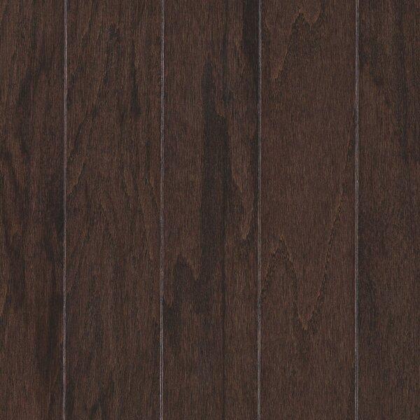 Palacio Random Width Engineered Oak Hardwood Flooring in Chocolate by Mohawk Flooring
