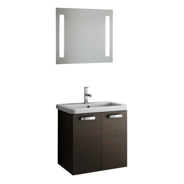 City Play 24 Single Bathroom Vanity Set with Mirror by ACF Bathroom Vanities