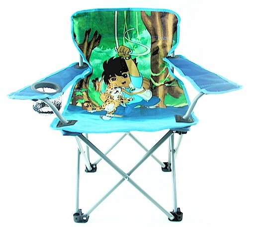 Go Diego Beach Kids Chair with Cup Holder by Linen Depot Direct