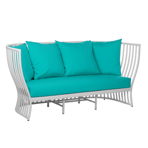 Napa Loveseat with with Sunbrella Cushions by David Francis Furniture