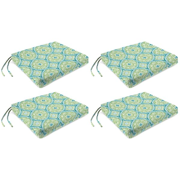 Indoor/Outdoor Dining Chair Cushion (Set Of 4) By Bungalow Rose