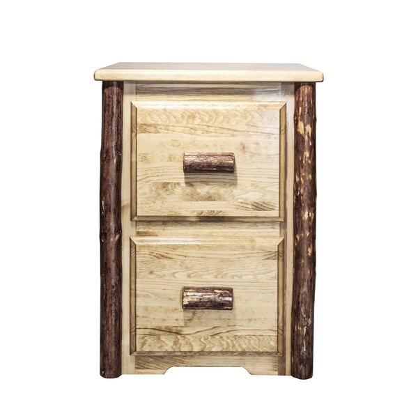 Tustin 2-Drawer File Cabinet by Loon Peak