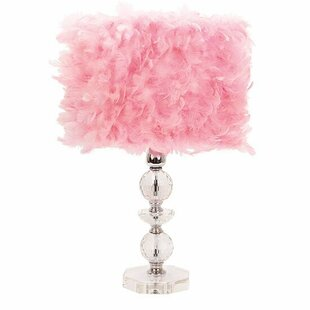 Crystal Pink Shade Table Lamps You Ll Love Wayfair