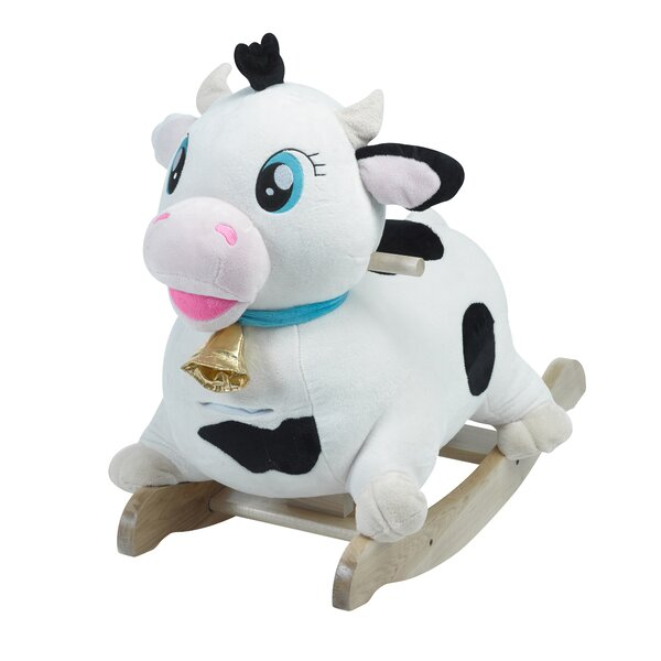 Moo Moo Cow Rocker by Rockabye