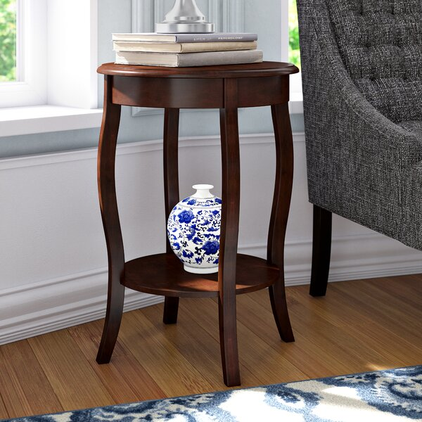 Yardley End Table by Charlton Home