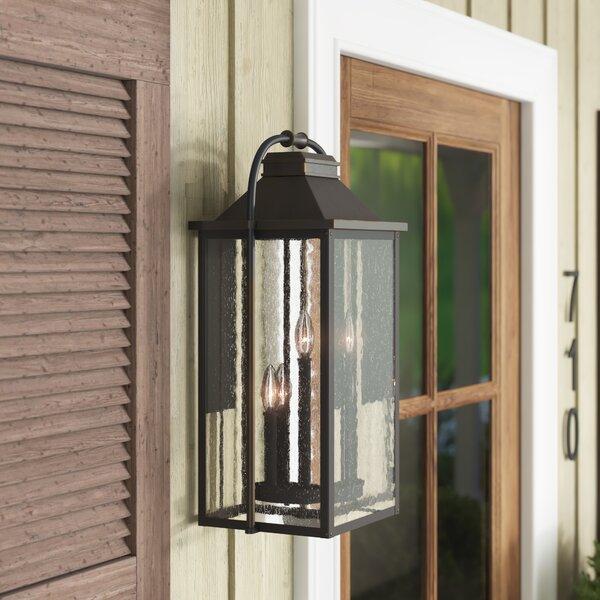 Shekar 3-Light Outdoor Wall Lantern by Gracie Oaks