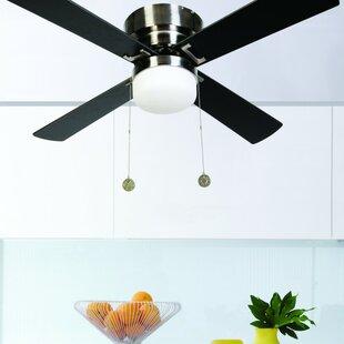 Low ceiling fan with light wayfair save aloadofball Choice Image
