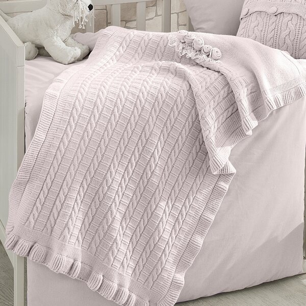 Cockrell Hill Merino Wool Blanket by Greyleigh