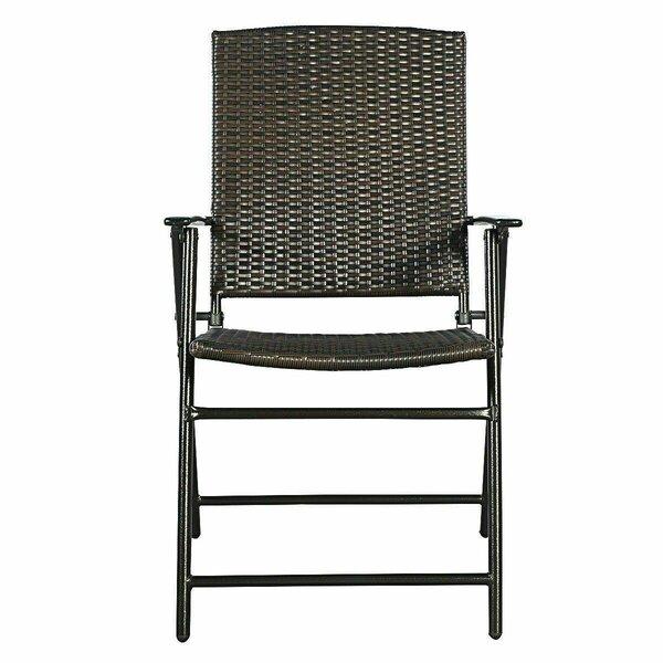 Rudolfo Folding Patio Dining Chair (Set of 4) by Latitude Run