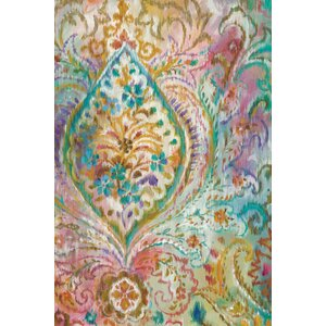 Boho Paisley II Painting Print on Wrapped Canvas by Bungalow Rose