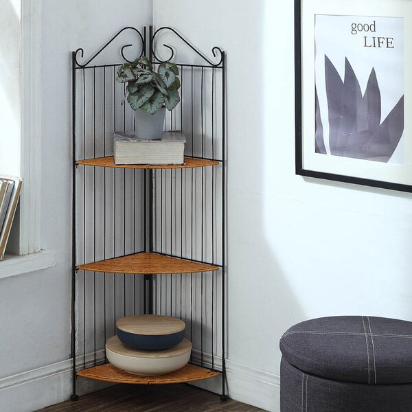 Sonia Corner Unit Bookcase by Winston Porter