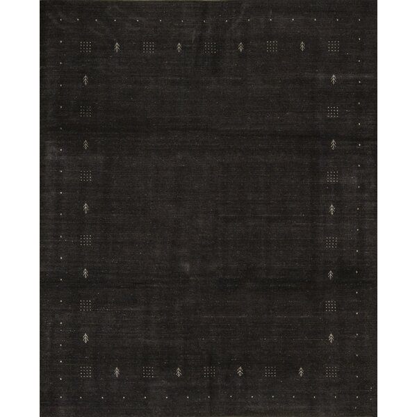 One-of-a-Kind Hand-Knotted Wool Dark Brown Indoor Area Rug by Bokara Rug Co., Inc.