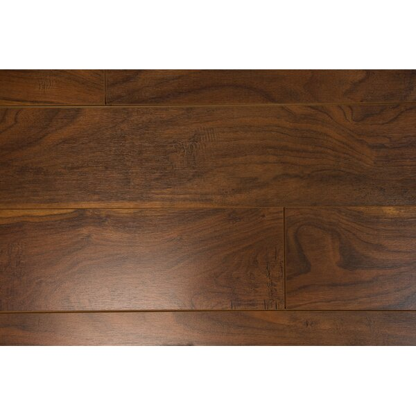 Marseille 6 x 55 x 12mm Walnut Laminate Flooring in Fudge by Branton Flooring Collection