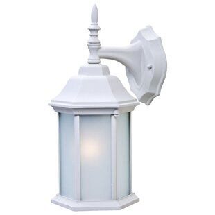 Comparison Pritzker 1-Light Outdoor Wall Lantern By Charlton Home