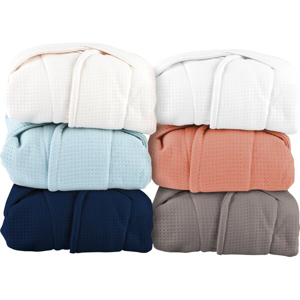 Whitman Superior Weave Spa Cotton Waffle Bathrobe