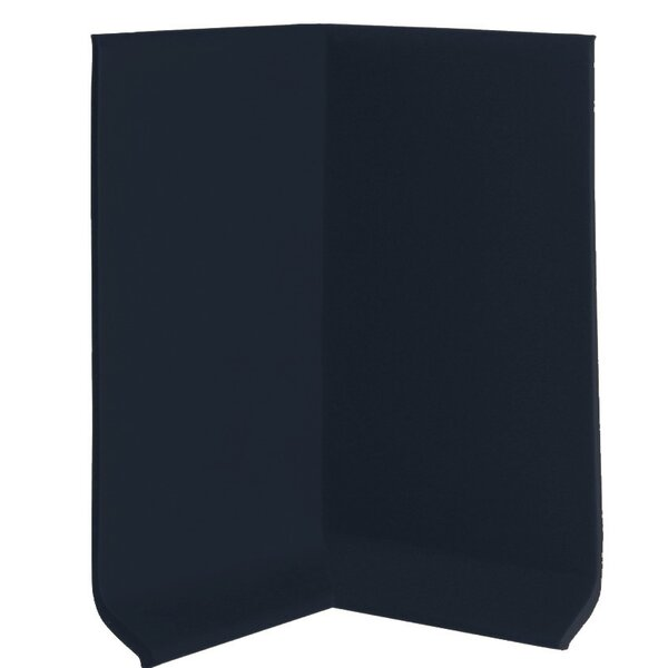 2.25 x 4 x 2.25 Cove Molding in Black (Set of 25) by ROPPE