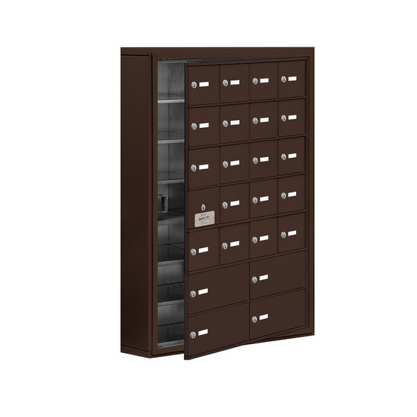 7 Tier 4 Wide EmpLoyee Locker by Salsbury Industries