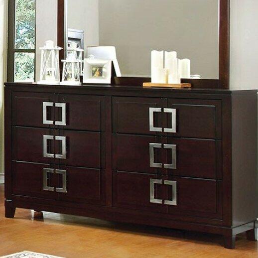 Bouck 6 Drawer Double Dresser by Orren Ellis