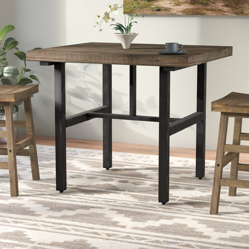 Veropeso Reclaimed Wood Counter Height Dining Table