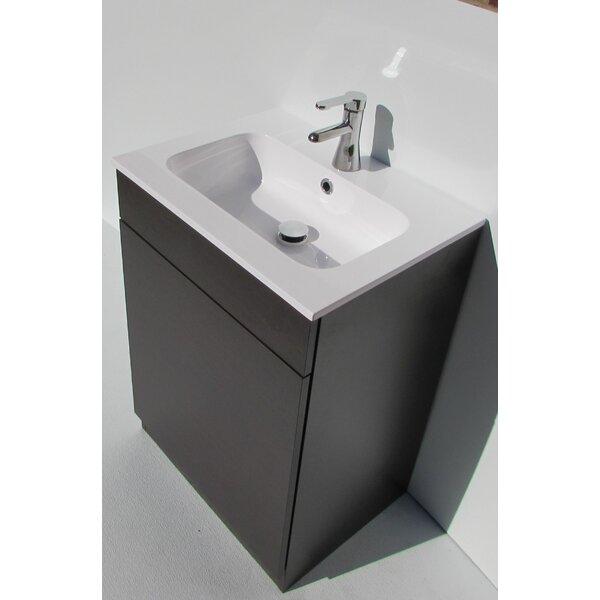 City1 Mineral Marble 24 Single Bathroom Vanity Top by Acquaviva
