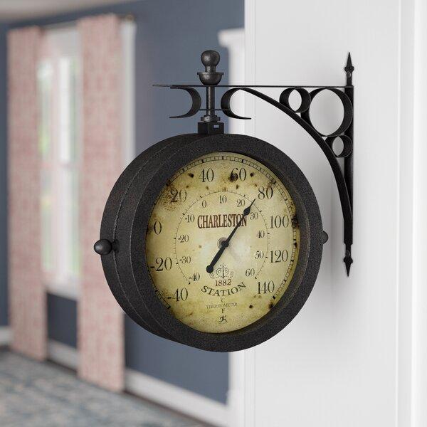 8.6 Wall Clock By Charlton Home.