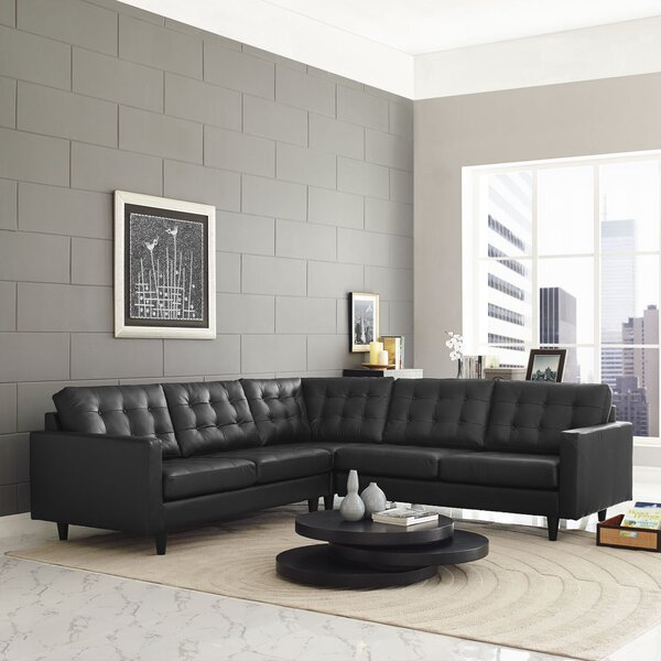 Gelb Sectional by Ivy Bronx